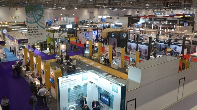 DSEI offered LEADING EDGE meetings in the defence Industry
